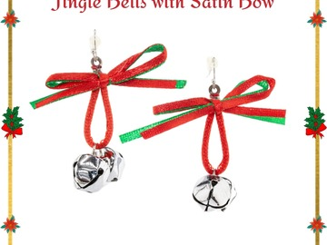 Buy Now: 130 Pairs of Christmas earrings. Take all deal $0.30 Each