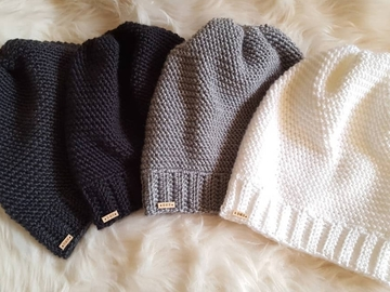 Selling with online payment: Knit Look Slouch Hat