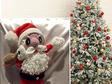 Vente au détail: Modèle Père Noël