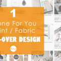 Offering online services: Custom All-Over Pattern Design