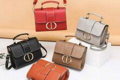 Liquidation/Wholesale Lot: (24) Premium Women Crossbody Fashion Handbag Purse Tote Style-3
