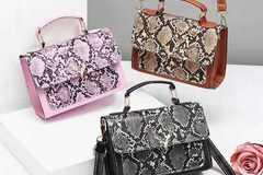 Liquidation/Wholesale Lot: (24) Premium Women Crossbody Fashion Handbag Purse Tote Style-5