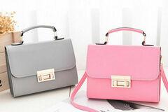 Liquidation/Wholesale Lot: (24) Premium Women Crossbody Fashion Handbag Purse Tote Style-6