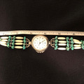 Selling: Turquoise Nugget & Bone Hairpipe watch