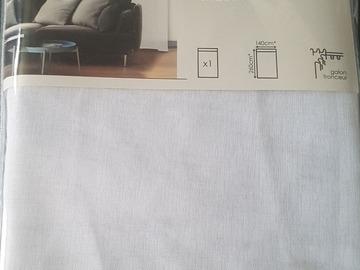 Vente: Voilage Blanc 140x260