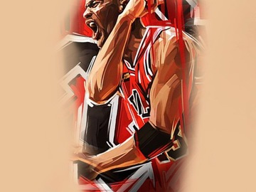 Tattoo design: Michael Jordan