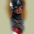 Tattoo design: Marvel - Captain America