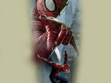 Tattoo design: Marvel - Spiderman