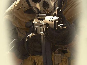 Tattoo design: Call of Duty 5