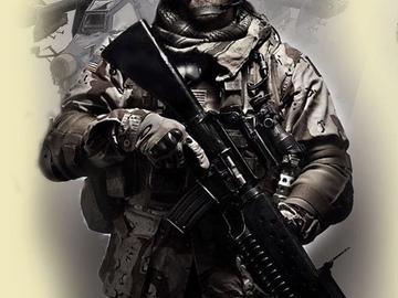 Tattoo design: Call of Duty - 7