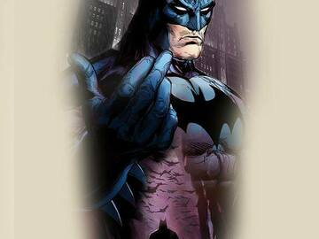 Tattoo design: DC Batman Illustrated