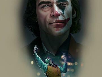 Tattoo design: DC - Joaquin Phoenix Joker 1