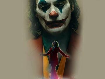 Tattoo design: DC - Joaquin Phoenix Joker 2