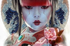 Tattoo design: Geisha