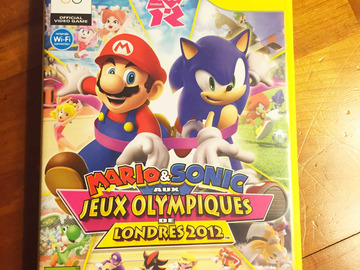 Vente: Jeux de console vidéo Wii MARIO et SONIC