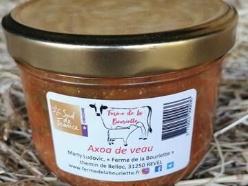 Vente avec paiement en direct: Axoa de veau - Conserve 360g