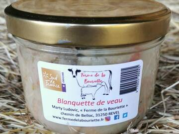 Vente avec paiement en direct: Blanquette de veau - Conserve 360g
