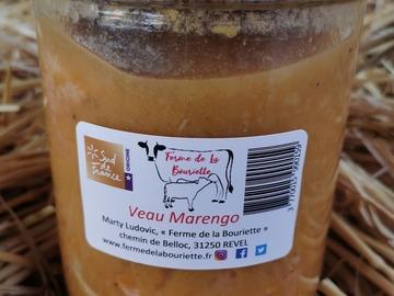 Vente avec paiement en direct: Veau Marengo - Conserve 750g