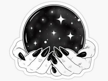 Selling: Enchanted Crystal Ball & Tarot Reading