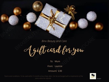 For Sale: Pamper Gift card