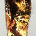 Tattoo design: Scorpion