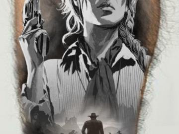 Tattoo design: Red Dead Redemption 2