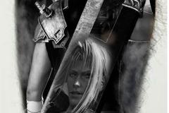 Tattoo design: Final Fantasy 7
