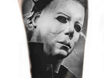 Tattoo design: Michael Myers