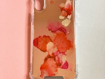 : Blossom time - Original alcohol inks phone case