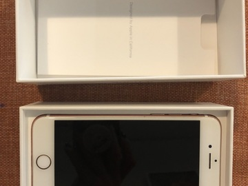 Myydään: iPhone 7 , 128GB, Rose