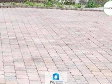 .: Reinigen terrastegels | door JVB Outdoor Cleaning