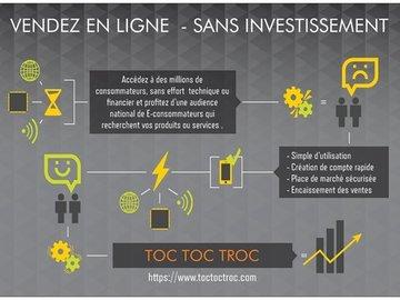 Proposition d'entraide: Vendre en ligne - sans investissement