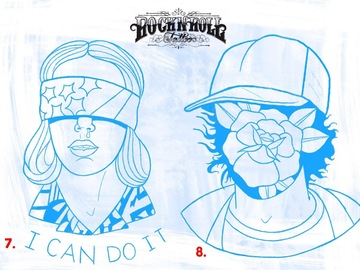 """Tattoo design: 7. Stranger Things - 11 """"I can do it"""""""