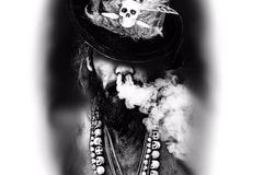 Tattoo design: Voodoo