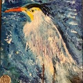 Selling with online payment: Blue Heron Painting