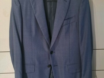 Online payment: Isaia 36UK navy suit