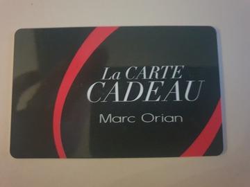Vente: Carte cadeau Marc Orian (500€)