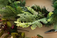 Events priced per-person: Christmas Wreath Making