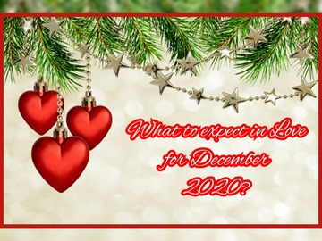 Selling: What to expect in love for December 2020?