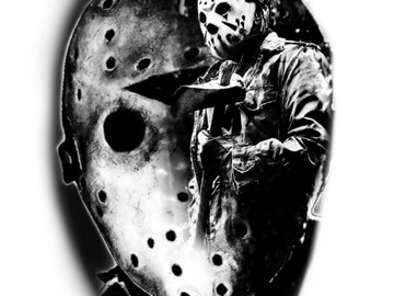 Tattoo design: Jason Voorhees