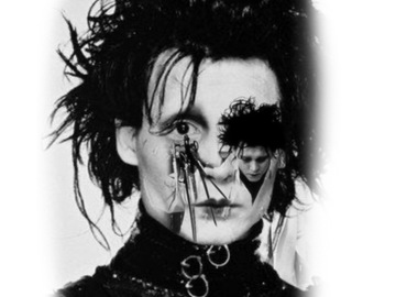 Tattoo design: Edward Scissorhands