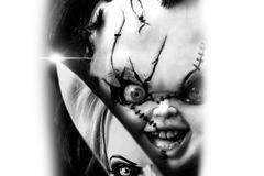 Tattoo design: Chuckie