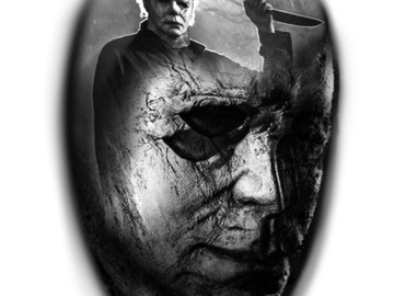 Tattoo design: Michael Myers