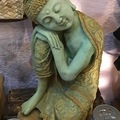 Selling with online payment: Concrete Resting Buddha