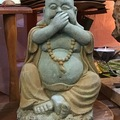 Selling with online payment: Concrete Happy Buddha