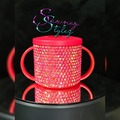 For Sale: Red blinged baby's first sippy cup / beaker 190ml