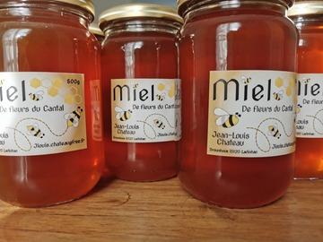 Les miels : miel du Cantal ou du Bugey