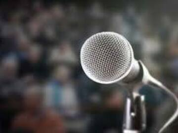 Freelancers: Public Speaker