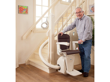 QUOTE/CONSULTATION: Custom Curved Stairlifts | Pickering