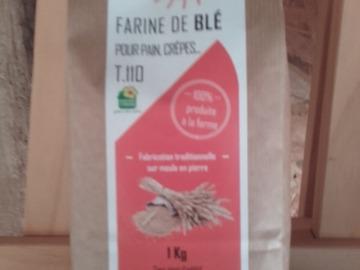 Vente avec paiement en direct: Farine de blé T110